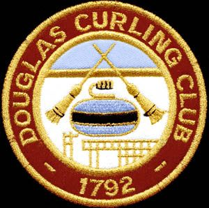 douglas curling club blazer badge