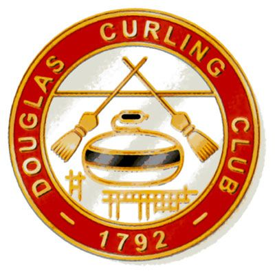 douglas curling club badge