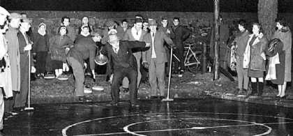 tarmac ice rink opening 1963