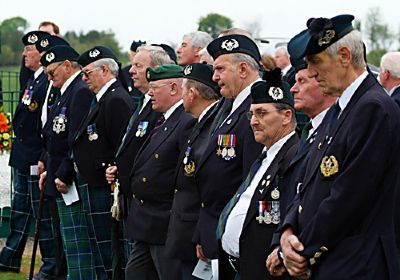cameronians on parade 2006