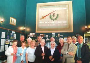unveiling of restored covenanters banner, douglas