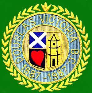 douglas victoria bowling club blazer badge
