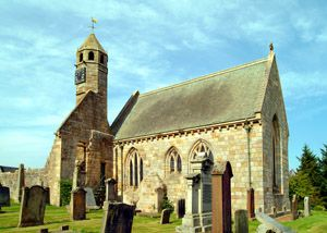 old st. brides church, douglas - copyright of lindsay addison